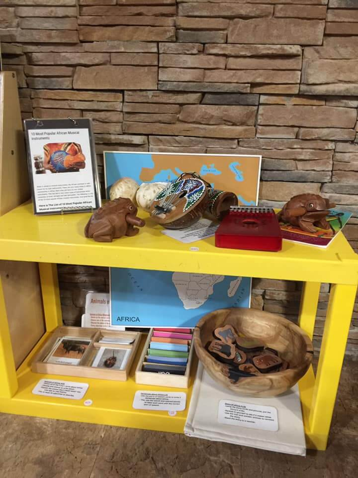 African educational artifacts